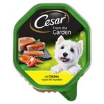 Cesar Tray Select Topping Chicken Topped Tender Vegetable 150G
