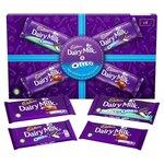 Christmas Cadbury Dairy Milk and Oreo Selection Box 430g