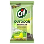 Cif Outdoor Furniture Wipes X 15
