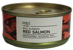 Clearanc Line Marks and Spencer Wild Alaskan Red Salmon 105g