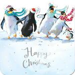 Clearance Line A Merry Dance Die Cut Christmas Cards 10 per pack