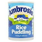 Clearance Line Ambrosia Creamed Rice Pudding 400g Tin