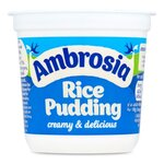 Clearance Line Ambrosia Original Rice Pudding 150g