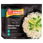 Clearance Line Amoy Straight To Wok Ribbon Rice Noodles 2x150g