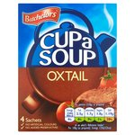 Clearance Line Batchelors Cup A Soup Original Oxtail 4 Sachet