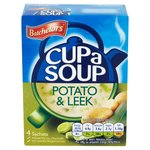 Clearance Line Batchelors Cup A Soup Potato and Leek 4 sachets