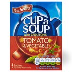 Clearance Line Batchelors Cup A Soup with Croutons Tomato and Vegetable 4 sachet