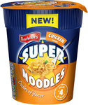 Clearance Line Batchelors Super Noodles Pot Chicken 75g
