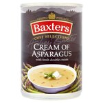 Clearance Line Baxters Chef Selections Soup Cream of Asparagus 400g