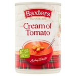 Clearance Line Baxters Favourites Cream of Tomato Soup 400g ***DENTED CAN***