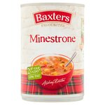 Clearance Line Baxters Favourites Minestrone Soup 400g ***DENTED CAN***