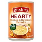 Clearance Line Baxters Hearty Chicken and Sweetcorn Chowder Soup 400g