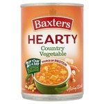 Clearance Line Baxters Hearty Country Vegetable Soup 400g **Dented Cans**