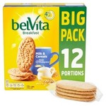 Clearance Line Belvita Milk And Cereal Breakfast Biscuits 12 Pack