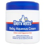 Clearance Line Bennetts Baby Aqueous Cream Fragrance Free 500ml