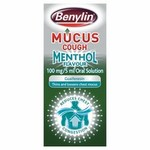 Clearance Line Benylin Mucus Menthol Cough 150ml