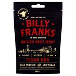Clearance Line Billy Franks Texan BBQ Beef Jerky 30g