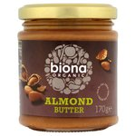 Clearance Line Biona Organic Almond Butter 170g