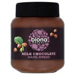 Clearance Line Biona Organic Milk Chocolate Hazel Spread 350g