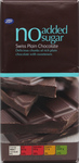 Clearance Line Boots Diabetic Swiss Plain Chocolate Bar 100g