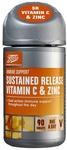 Clearance Line Boots Sustained Release Vitamin C and Zinc 500mg 90 Tablets