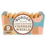 Clearance Line Border Biscuits Light and Buttery Viennese Whirls 150g