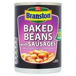 Clearance Line Branston Baked Beans and Sausages In Tomato Sauce 405g