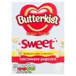 Clearance Line Butterkist Microwave Popcorn Sweet 3x60g