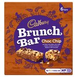 Clearance Line Cadbury Brunch Bar Chocolate Chip 6 Pack