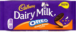 Clearance Line Cadbury Dairy Milk with Oreo Peanut Butter Chocolate Bar 120g