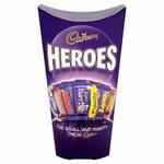 Clearance Line Cadbury Heroes Chocolate 290g inc. Wraps ***DAMAGED BOX PRODUCT FINE***