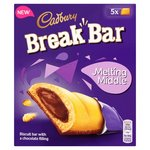 Clearance Line Cadbury Melting Middle Break Bar 5 Pack
