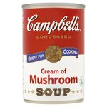 Clearance Line Campbells Cream Of Mushroom Condensed Soup 295g ***SLIGHT DENT ON TINS PRODUCT FINE***
