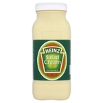 Clearance Line Catering Size Heinz Salad Cream Plastic Bottle 2.15kg