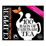 Clearance Line Clipper Fairtrade Tea 100 Teabags