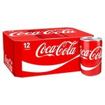 Clearance Line Coca Cola Regular 12 x 150ml Cans