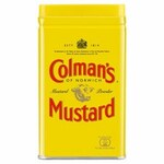 Clearance Line Colmans English Mustard Powder 113g Tin