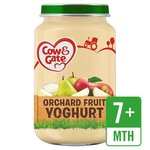 Clearance Line Cow And Gate 7 Months Orchard Fruit Yoghurt Jar 200g