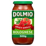 Clearance Line Dolmio Bolognese Spicy Chilli 500g