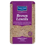 Clearance Line East End Brown Lentils 500g