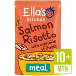 Clearance Line Ellas Kitchen Organic Salmon Risotto 190g 10 Month