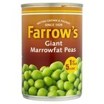 Clearance Line Farrows Giant Marrowfat Processed Peas 300g Can