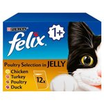 Clearance Line Felix Pouch Poultry in Jelly Multipack 12 x 100g