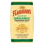 Clearance Line Flahavans Organic Porridge Oats 1Kg