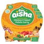 Clearance Line For Aisha Chicken and Sweet Potato Curry 10 Month 190g