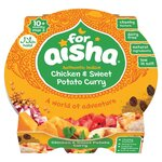Clearance Line For Aisha Chicken and Sweet Potato Curry 10 Month 190g ***EXP 19 OCT 2021***