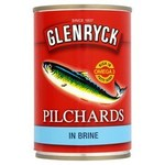 Clearance Line Glenryck Pilchards In Brine 400G