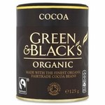 Clearance Line Green and Blacks Organic Cocoa Fairtrade 125g