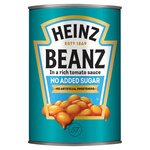 Clearance Line Heinz Baked Beans No Added Sugar 415g ***SLIGHTLY DENTED CANS***