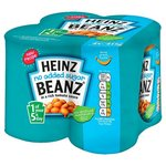 Clearance Line Heinz Baked Beans No Added Sugar 4x415g